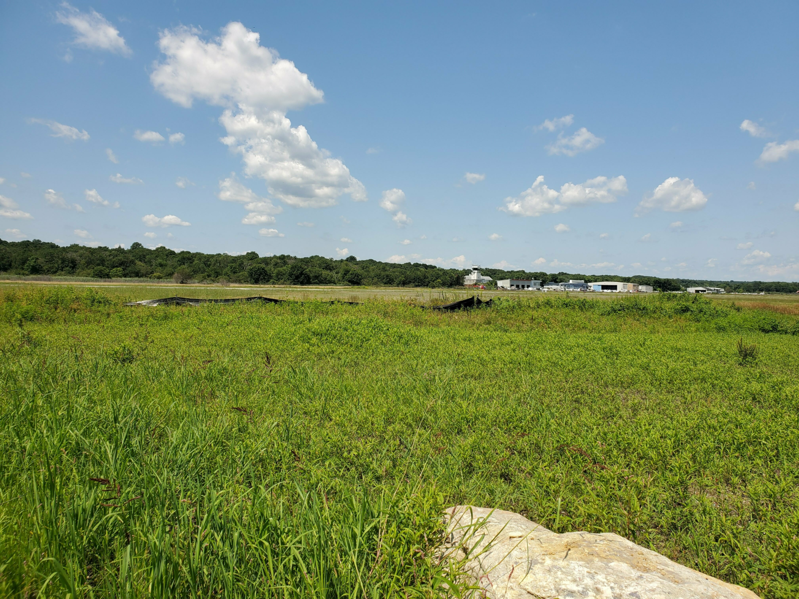Landscape view of the Norwood Memorial Airport project